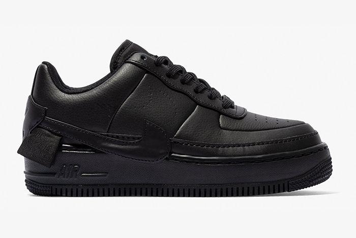 Nike Air Force 1 Jester Triple White Black 2