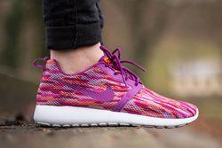 Nike Roshe Run Flight Gs Bold Berry Total Orange Pink Pow Thumb