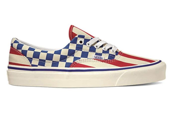 Vans Anaheim Factory Era Red Stripes Pack Release Date Side