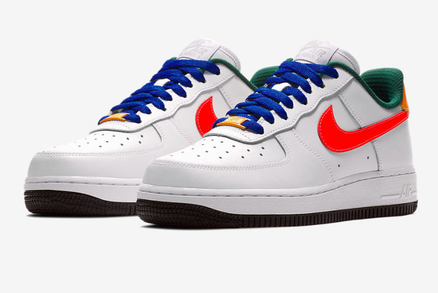 Nike Wmns Air Force 1 Low Love Bright Crimson 1 Sneaker Freaker