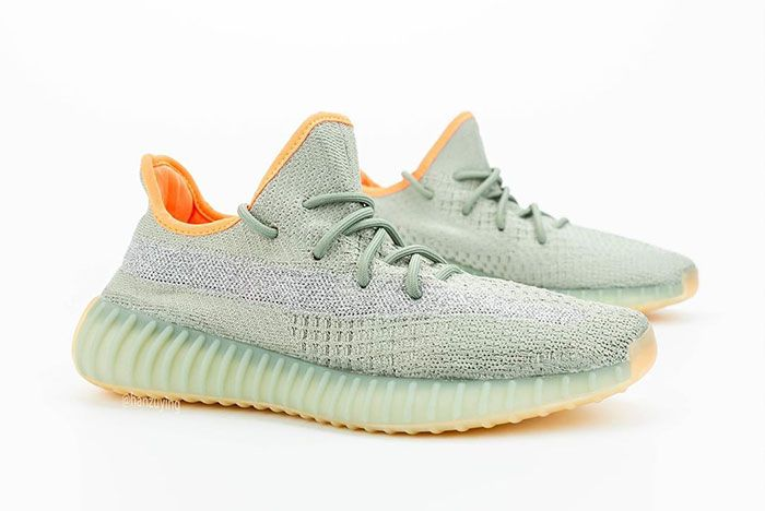 Adidas Yeezy Boost 350 V2 Desert Sage Right