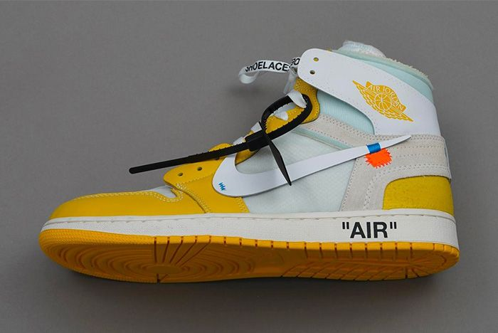 Off White Air Jordan 1 Canary Yellow Release Rumor