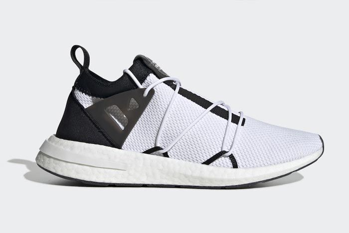Adidas Arkyn White Black Red Lateral