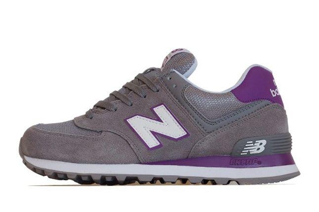 New Balance 574 Purple Grey 1