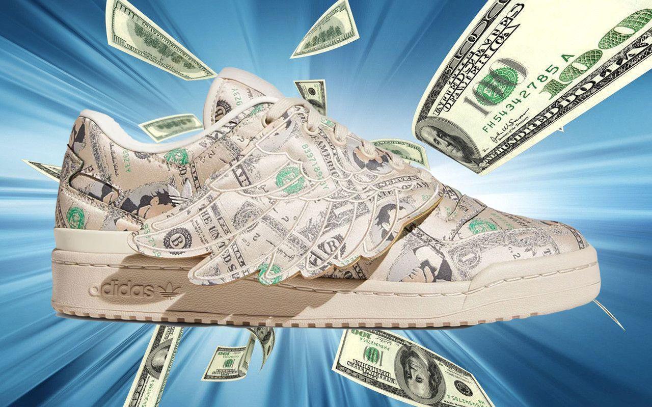 Jeremy Scott x adidas Forum Low Wings 1.0 'Money'