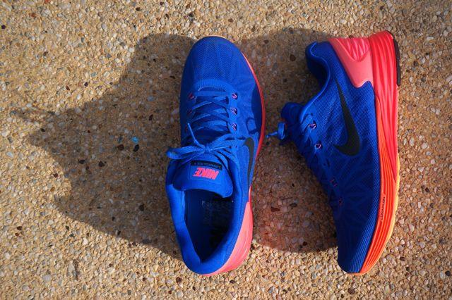 Nike Lunarglide 6 Blue Orange Yellow 6