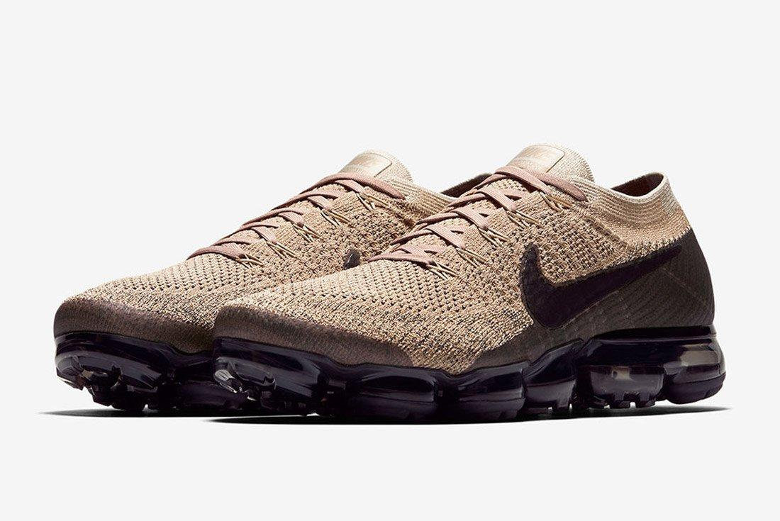 Nike Air Vapormax Tan Brown Black 6