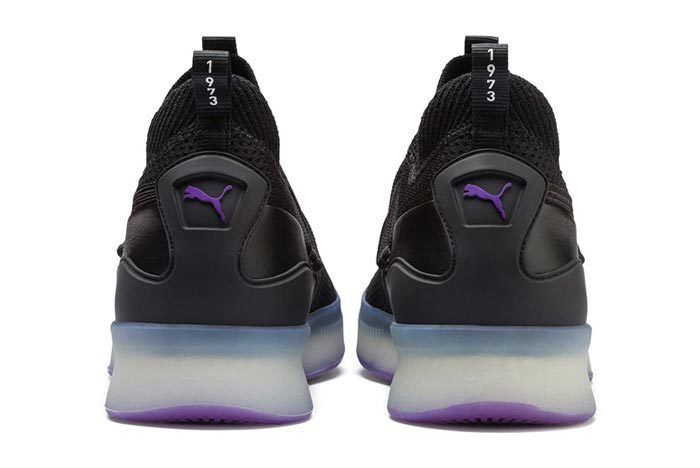 Puma Clyde Court Purple Glow 5