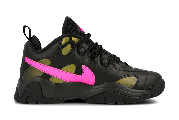 Nike Air Barrage Low Superbowl Black Pink Right