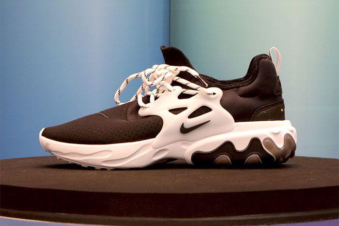 Nike React Presto Black White Ghost Side Shot 13