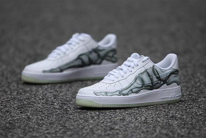 Air Force 1 Skeleton 4