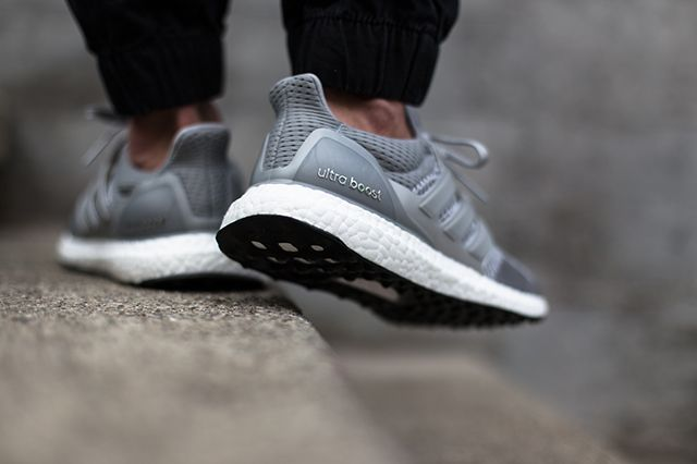 Adidas Ultra Boost Silver White 2