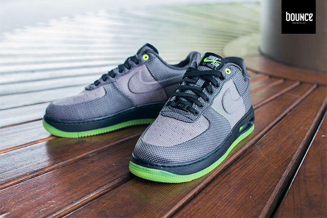 Nike Air Force 1 Vt Jacquard Grey Volt 1