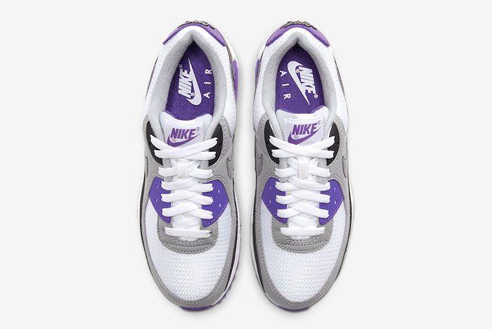 Nike Air Max 90 Hyper Grape Cd0490 103 Top