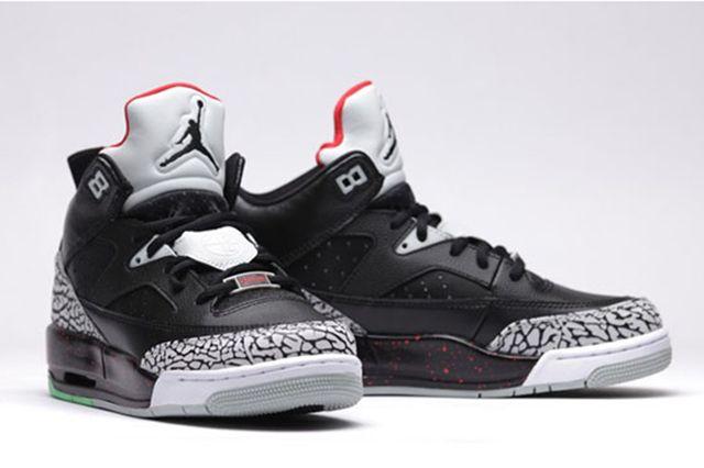 Air Jordan Son Of Low Bg University Red Black Black Unvrstyrd Grymst 14