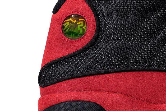 Air Jordan 13 Black Red Bred Retro Small