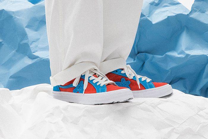 Golf Le Fleur Converse Tyler The Creator Two Tone Uno Closer Look 01 Sneaker Freaker