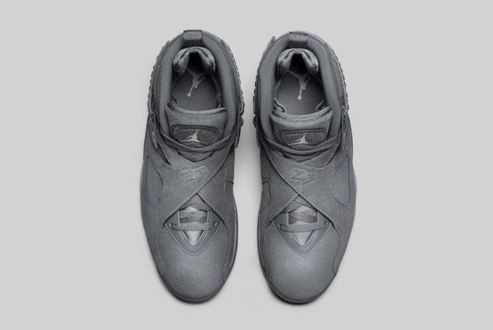 Air Jordan 8 Cool Grey 3
