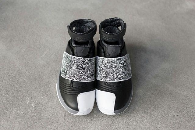 Air Jordan 20 Black White Bump 1