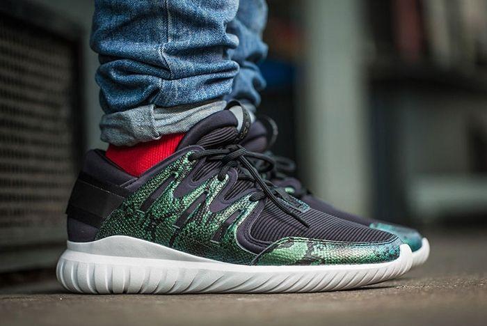 Adidas Tubular Nova Green Snakeskin 3