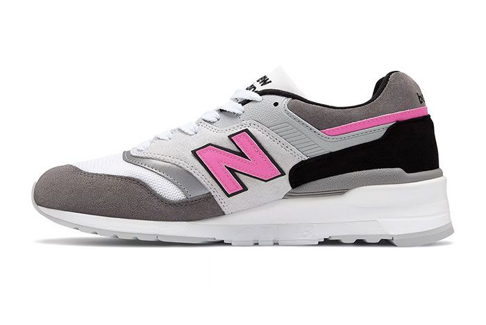 New Balance 997 Lbk Made In Usa Grey Pink Medial Side Shot