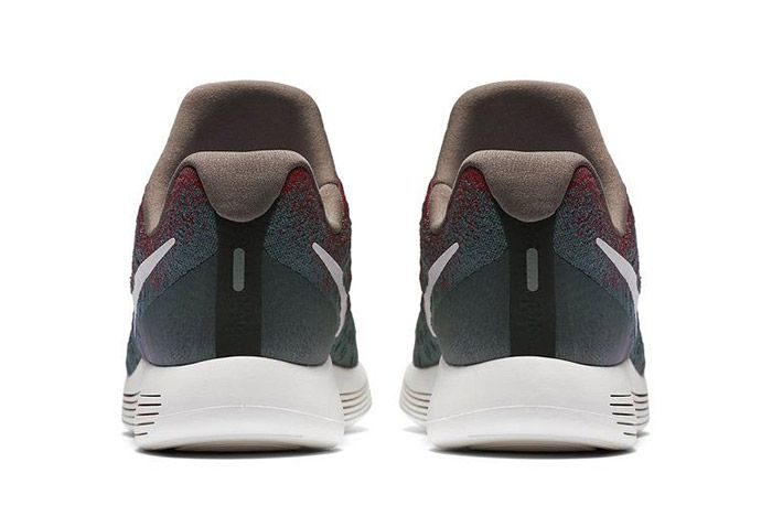 Nike Gyakusou Lunarepic Flyknit Low 2 Green Red 3