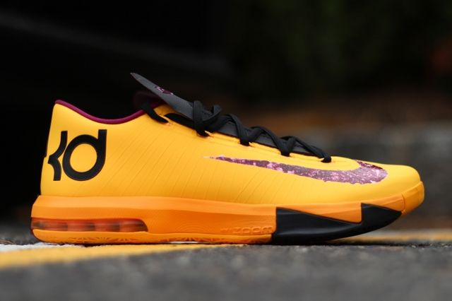 Nike Kd6 Peanut Butter And Jelly Pair Profile