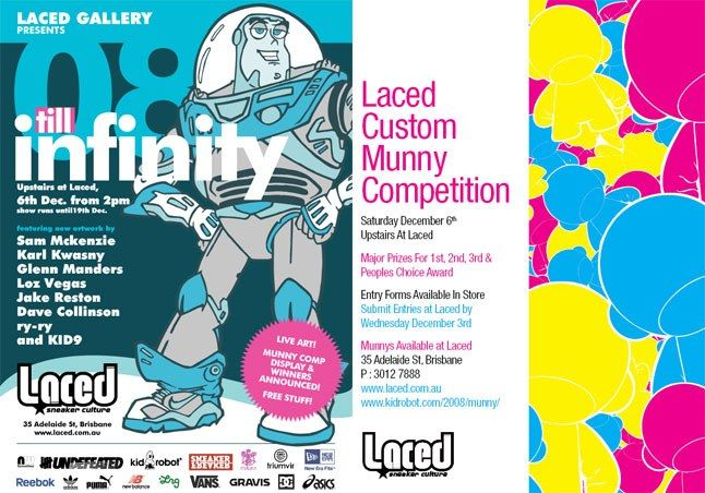 Laced Munny Comp And 2Nd Birthday 1