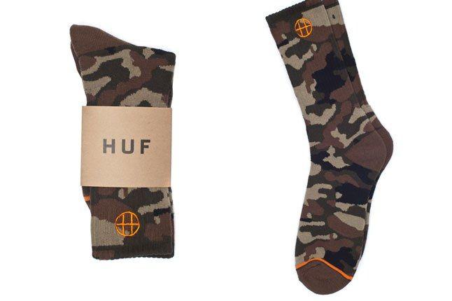 Huf Camo Socks 1