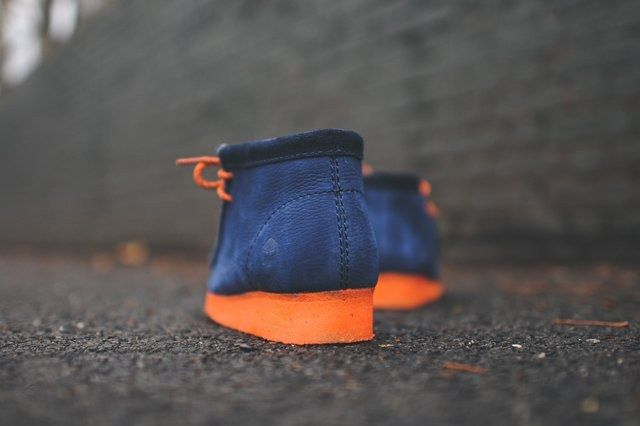 Mf Doom X Clarks Wallabee Boot Navy 8