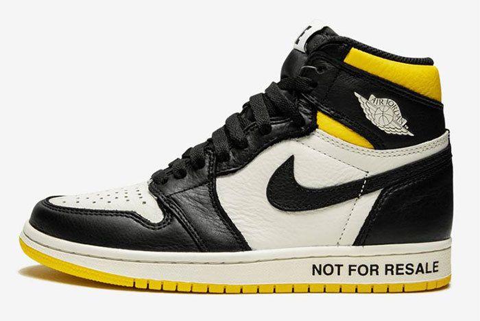 Air Jordan 1 Not For Resale Yellow 861428 107 1