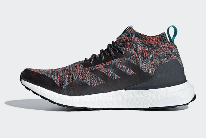 Adidas Ultra Boost Mid Multicolour Dark Grey 2