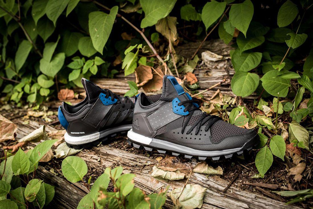 Adidas Response Trail Boost Black Navy 6