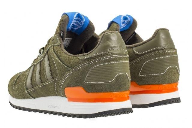 Adidas Originals Zx 700 Oak Rear Angle