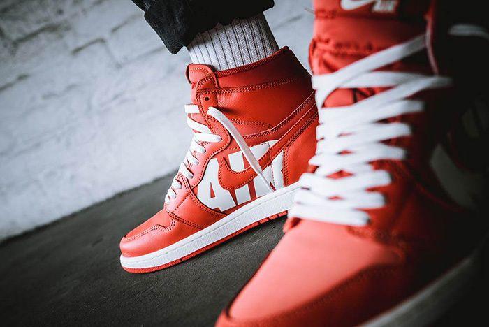 On Foot: Air Jordan 1 Retro High OG 'Vintage Coral' - Sneaker Freaker