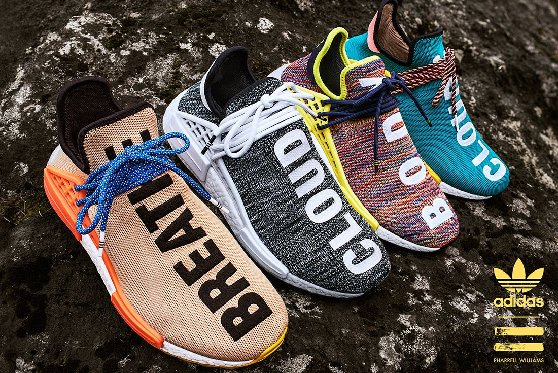 Adidas Pharrell Williams Hu Nmd Trail Pack 4