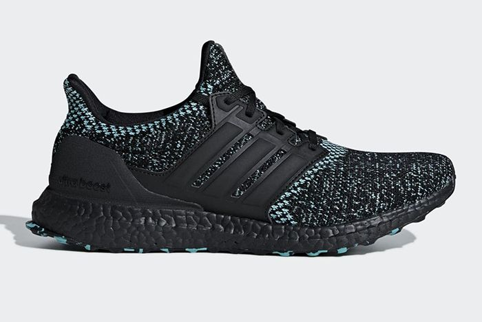 Adidas Ultra Boost Core Black True Green 2