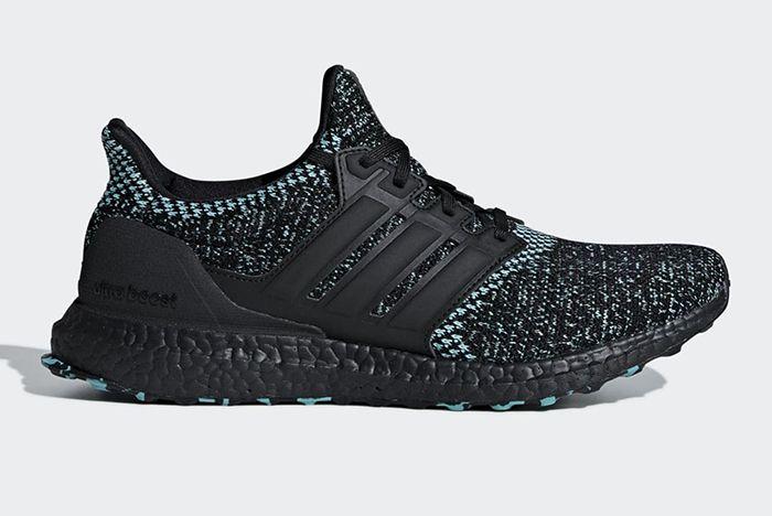 Adidas Ultra Boost Core Black True Green 2
