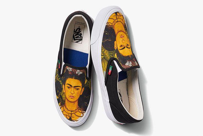 Vans Vault Frida Kahlo Classic Slip On Top