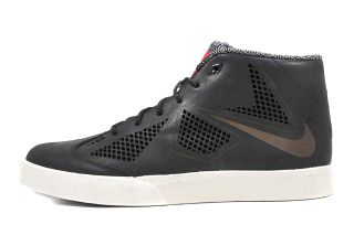 Nike Le Bron X Lifestyle Profile Black Red Thumb