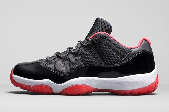 Air Jordan 11 Low Bred Bumper 6