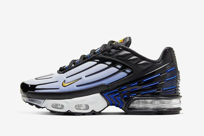 Nike Air Max Plus 3 Hyper Blue Cd6871 001 Lateral