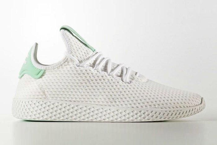 Adidas Pharrell Williams Tennis Hu Pastel Green 6