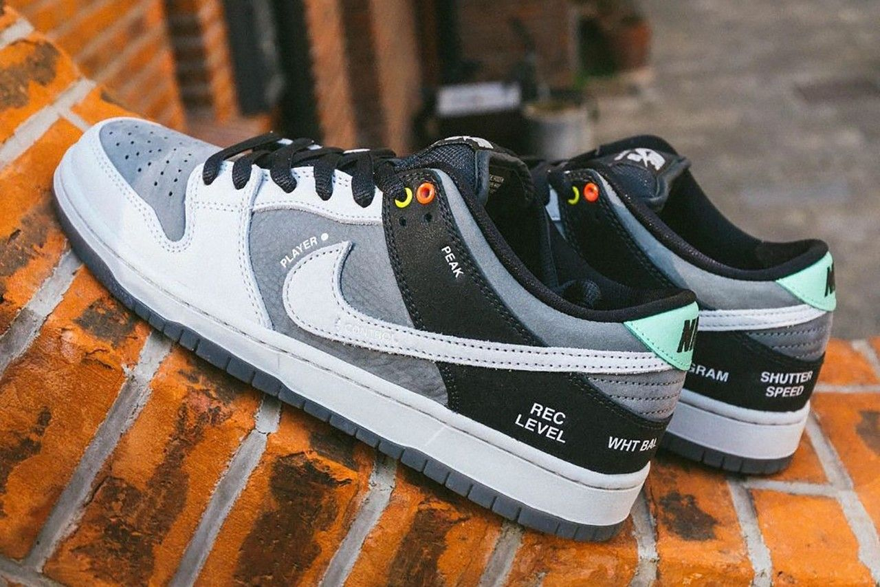 nike sb dunk low camcorder hero shot