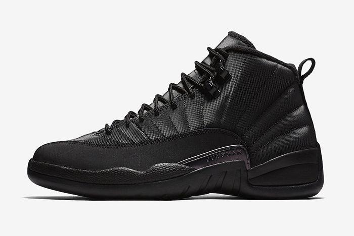 Air Jordan 12 Winterized Triple Black Official 2