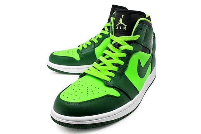 Air Jordan 1 Oregon Green 1