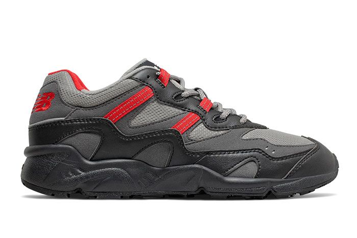 New Balance 850 Black Team Red Lateral Side Shot
