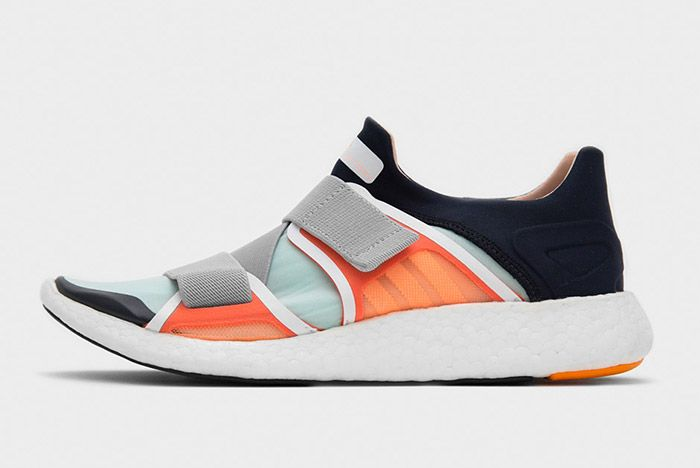 Stella Mccartney Adidas Pure Boost Orange 2016 1