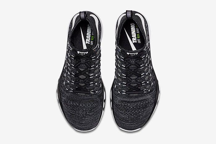 Nike Train Ultrafast Flyknit Black White 4