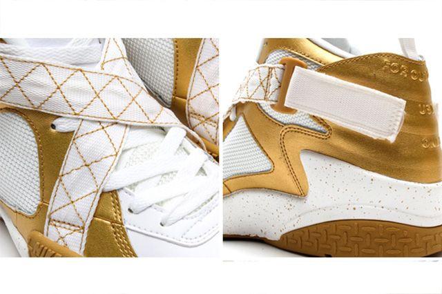Nike Air Raid Metallic Gold